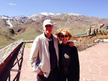 John & Dorothy A mountains