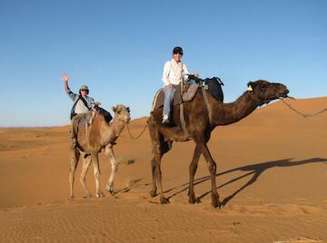Jim & Valerie P. camel