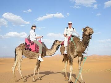 Bill J.- camel ride