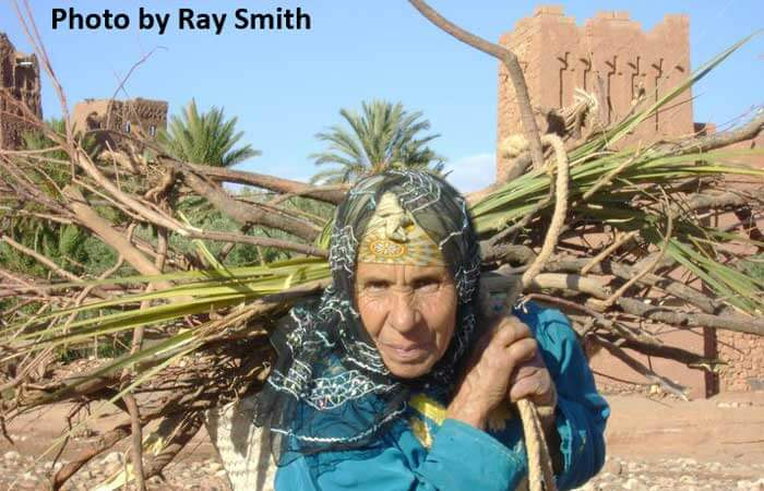 Collecting-Firewood-Ait-Ben-Haddou