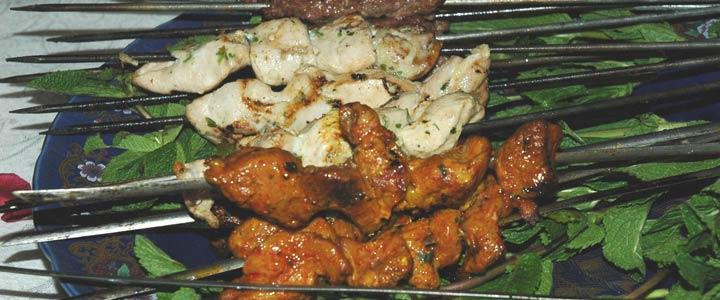 Food-lamb-chicken-kefta-kabobs