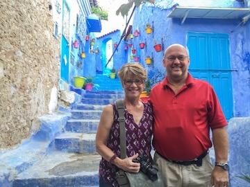 Mark & Linda chaouen