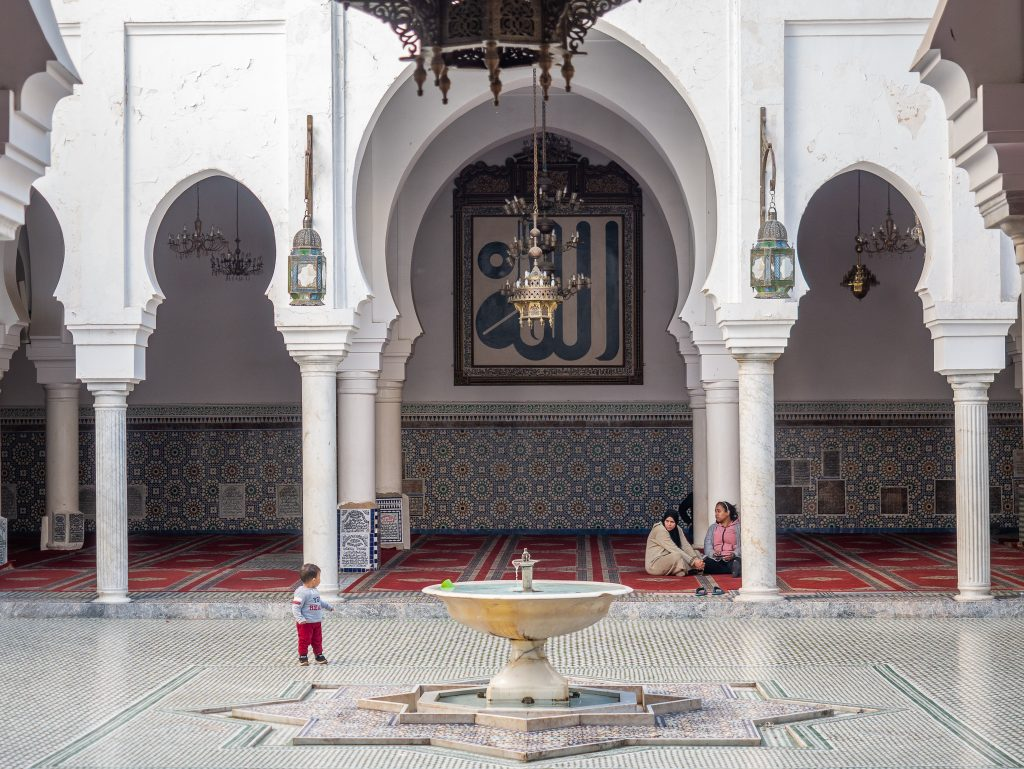 The Karaouine Mosque in Morocco