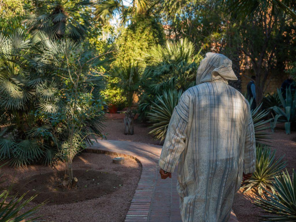 Tour the Majorelle Gardens in Marrakech, Morocco