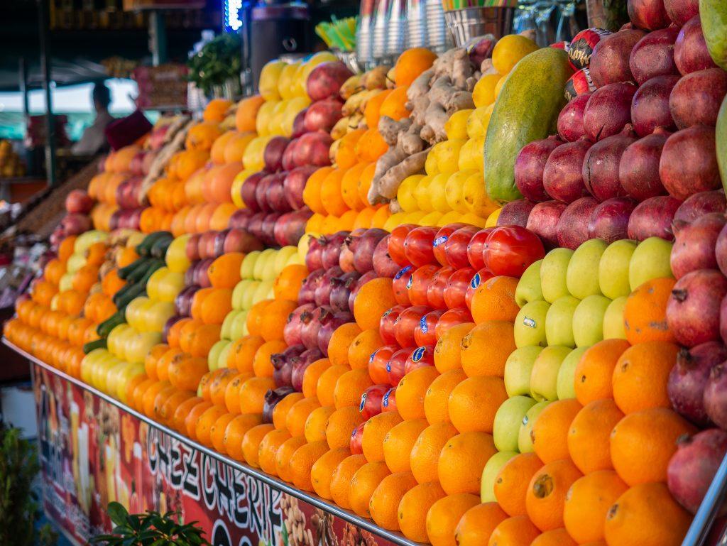 Orange Juice on a tour in Marrakech