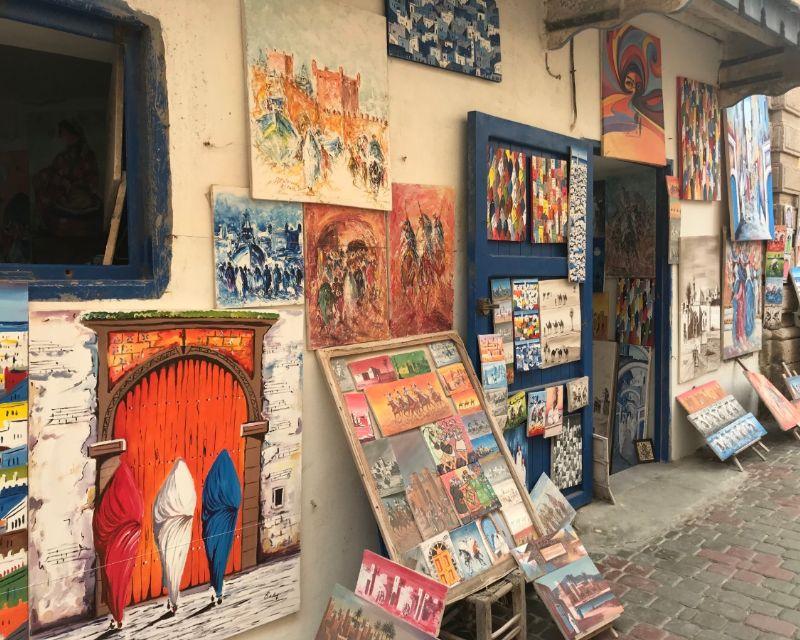 Art in the medina of Essaouira, Morocco